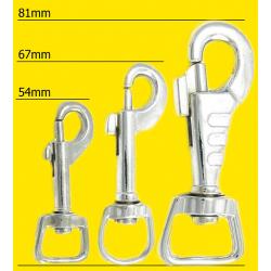 Halsband 40mm Grösse L braun