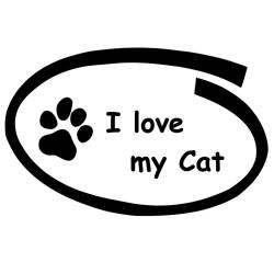 Aufkleber Katze 3